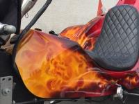 Trike True Fire Airbrush totenkopf