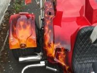 True Fire Skull Trike heckfender 2