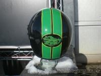Pinstriping bandit helm