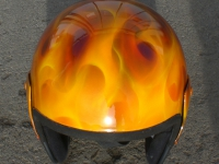 True Fire Helm front2