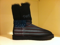 american flagg ugg airbrush