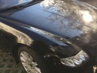 carwrapping maserati schwarz glänzend oracal