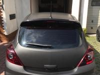 carwrapping opel corsa opc black matt
