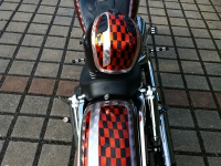 Custompainting Kandyleafing Checker Borad Pinstriping