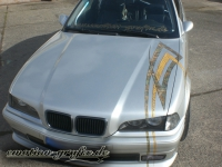 gold leafing Design bmw front 2