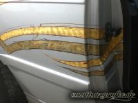 gold leafing Design bmw heck Türsicke