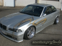 gold leafing Design bmw