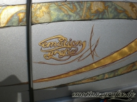 gold leafing emotion logo