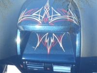 Pinstriping 6 Astra Mittelkonsole