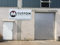 Werbebeschriftug custom motors